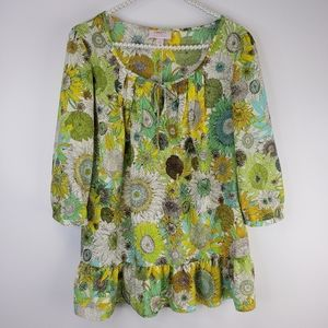 Liberty of London for Target Bright Floral Blouse